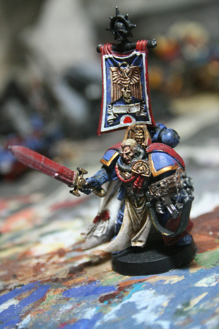 ultramarines captain 2 by paskiman