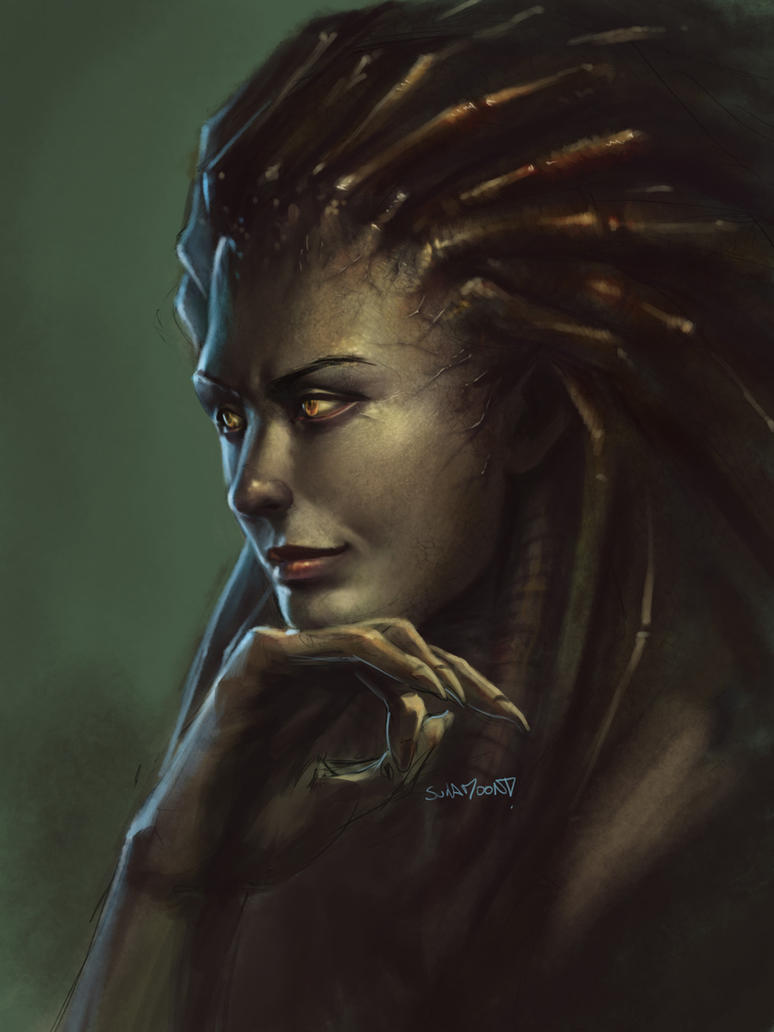Kerrigan Sketch 2 by SulaMoon