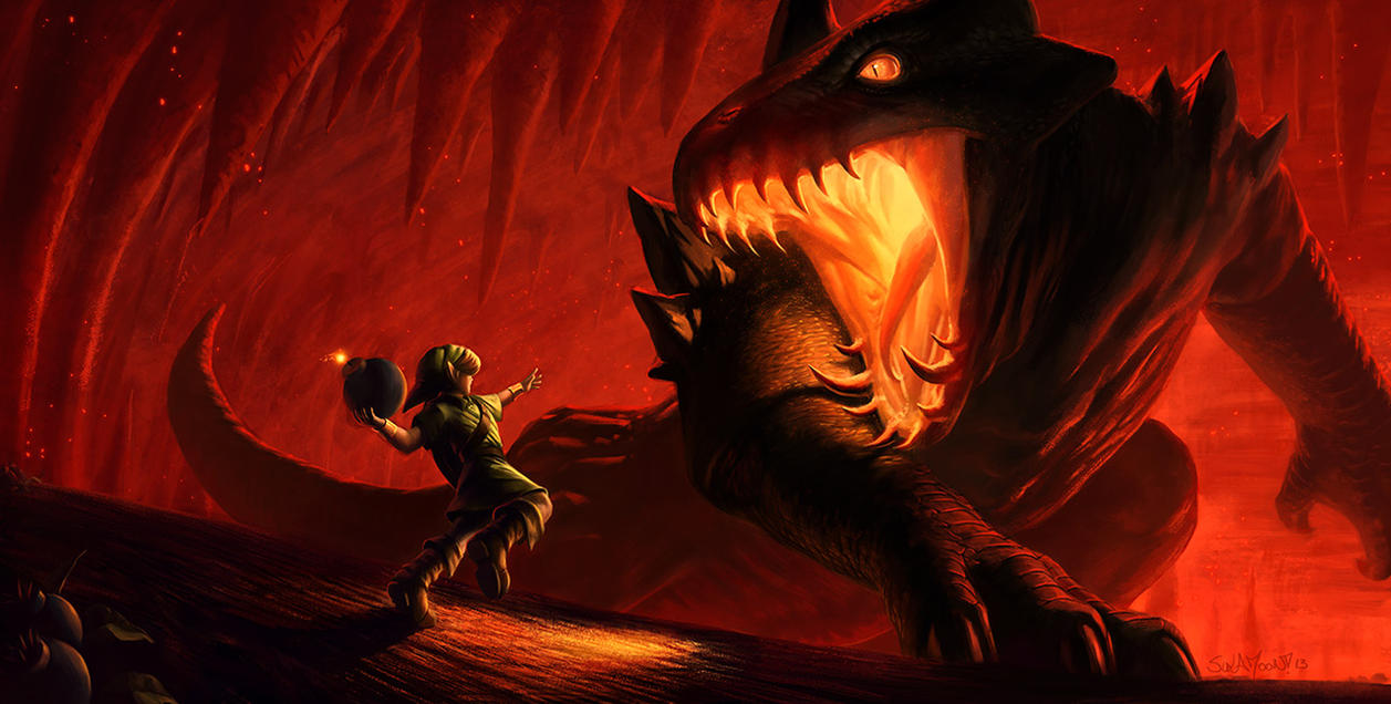 Infernal Dinosaur: King Dodongo by SulaMoon