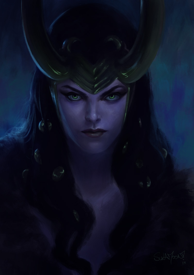 Lady Loki by SulaMoon
