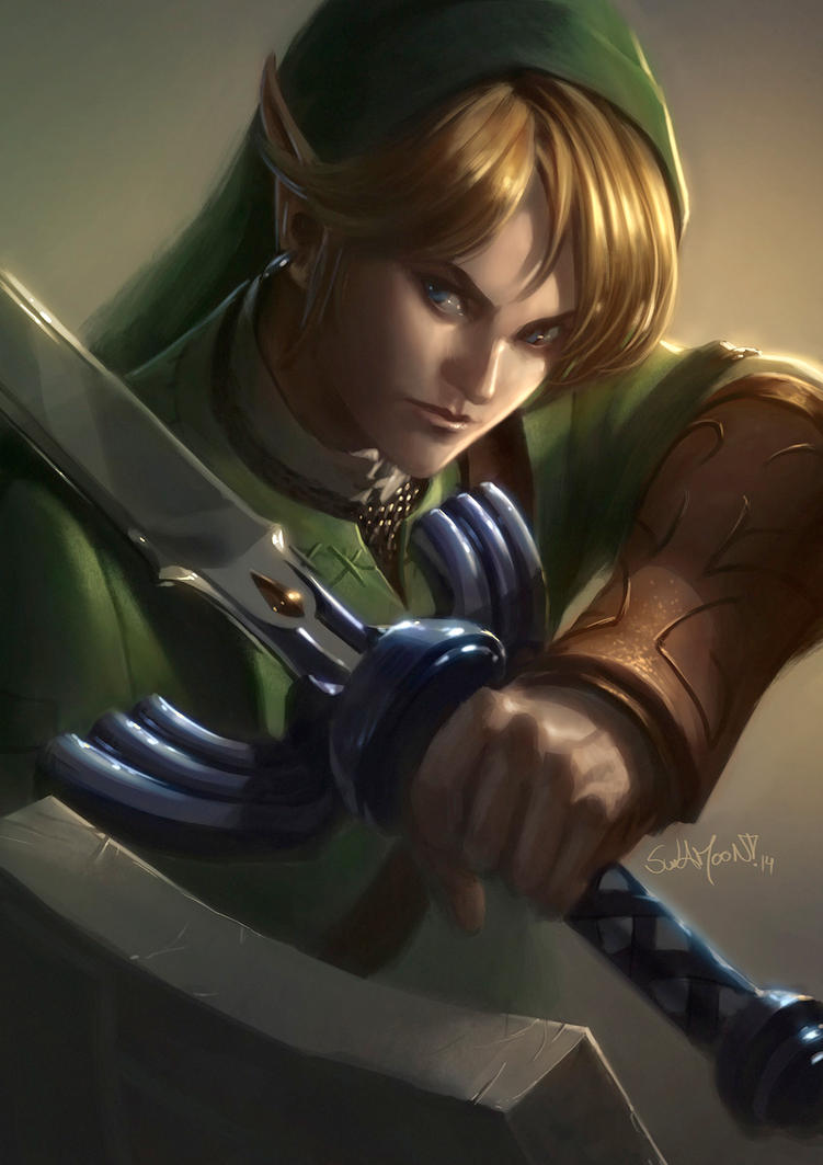 Link in Zelda: Twilight Princess by SulaMoon