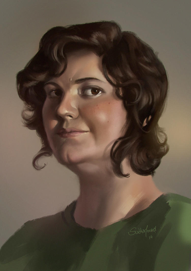 Self Portrait Day 2014 by SulaMoon