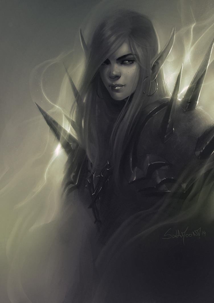 Warlock Sketch by SulaMoon
