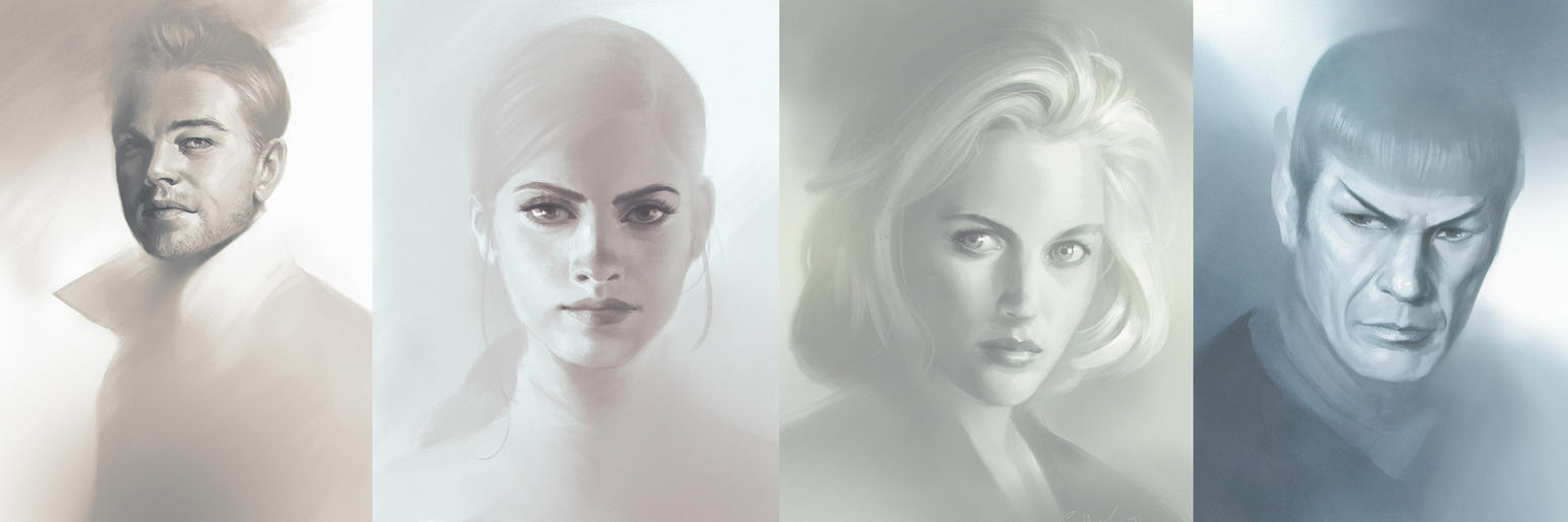 High key Portrait studies by SulaMoon