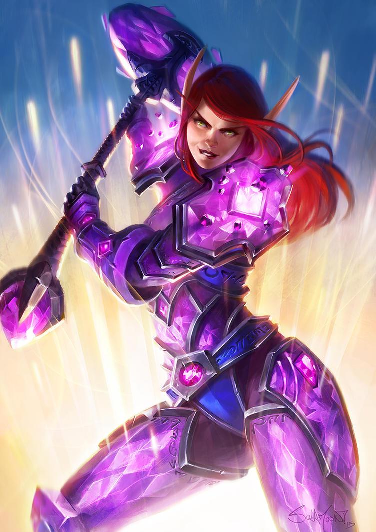 Paladin: Crystalforged Vindicator by SulaMoon