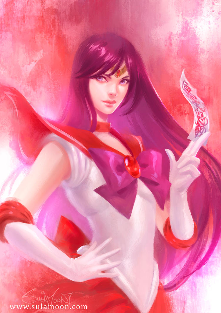 Sailor Mars by SulaMoon