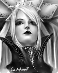Lineage 2 - DarkElf Gatekeeper by SulaMoon