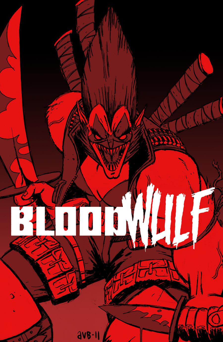 Bloodwulf #1 - 4 (1995) – GetComics