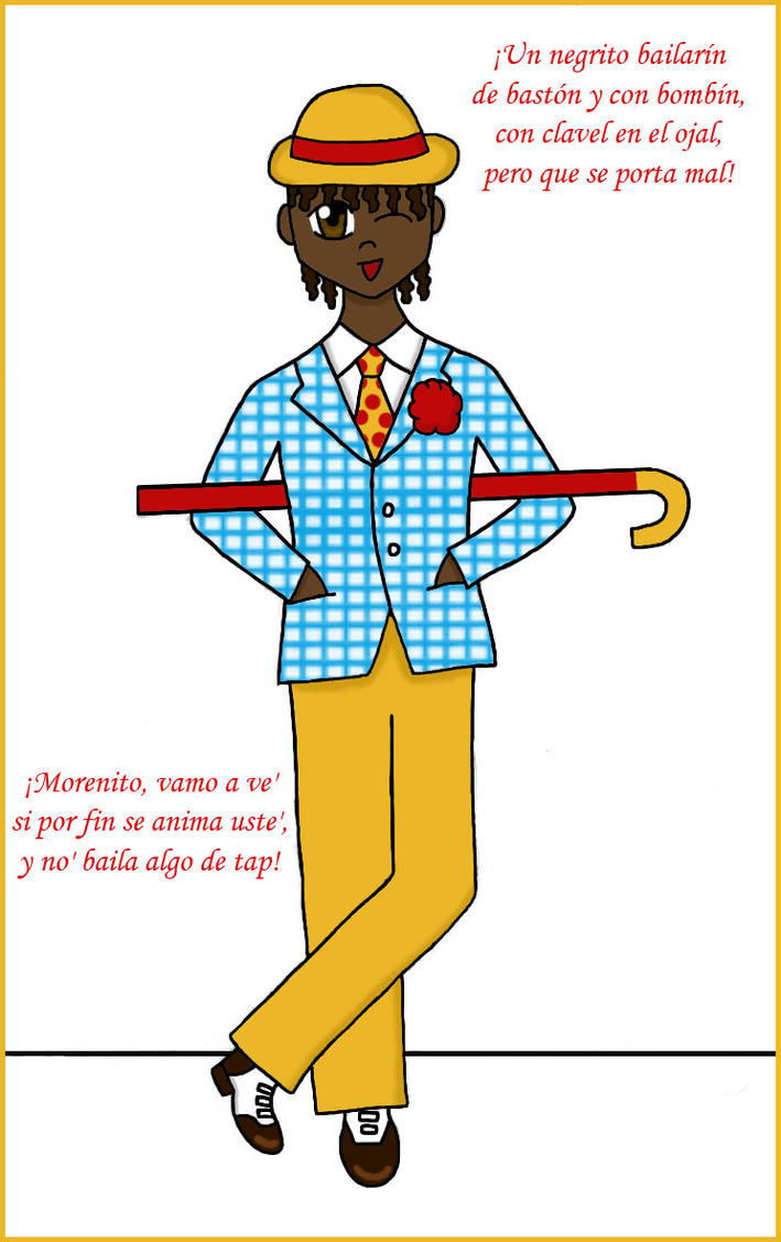 El Negrito Bailarin by Hime-Murasaki