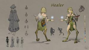 Healer ConceptSheet by moonmakes