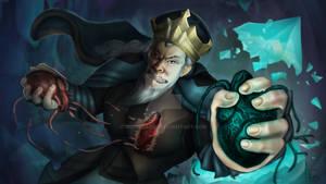 Evil King Illustration by moonmakes