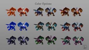 BossMonsterConcept ColorOptions by moonmakes