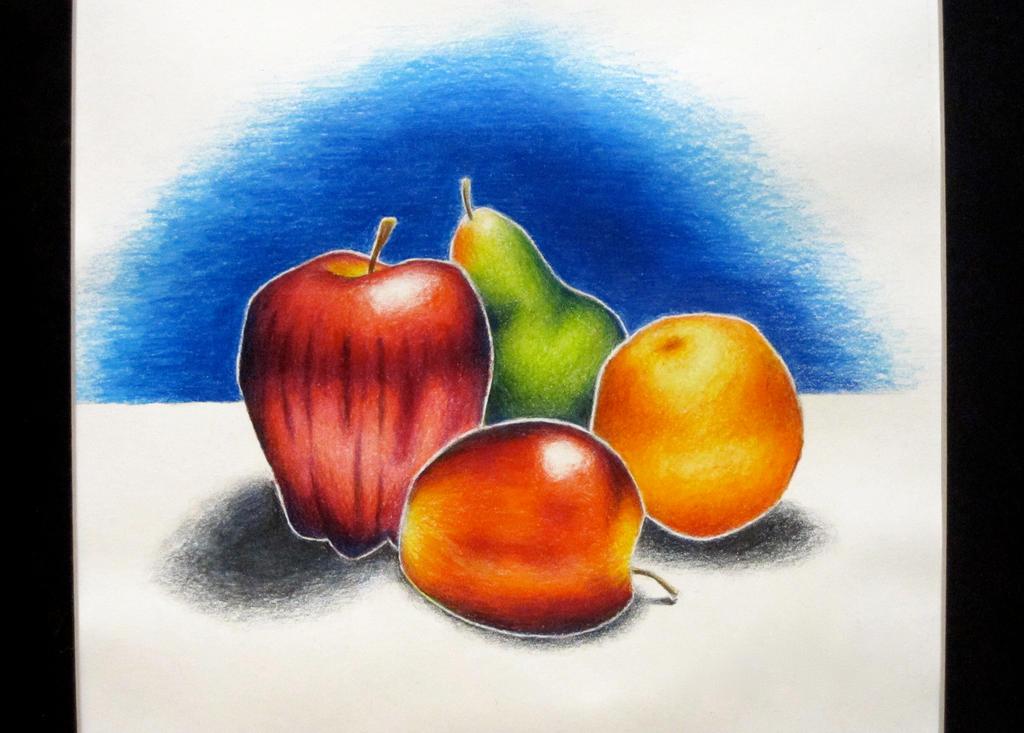 Still Life: Fruit by SforShenanigans on DeviantArt