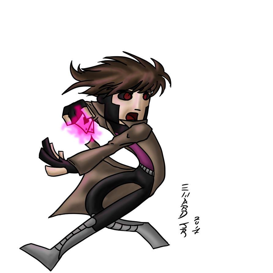 Gambit mais uma vez by scottsyorke