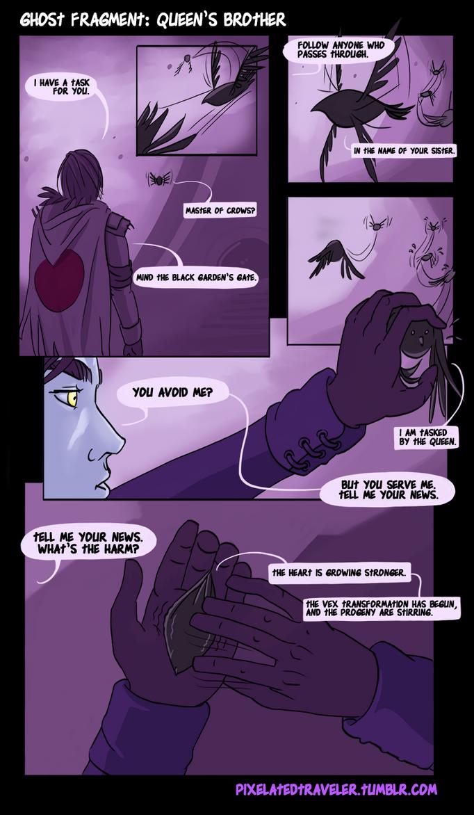Ghost Fragment: Queen's Brother pg1 by pixelatedtraveler