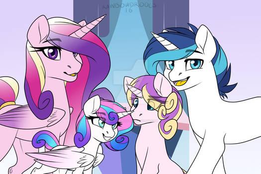 Crystal royal family