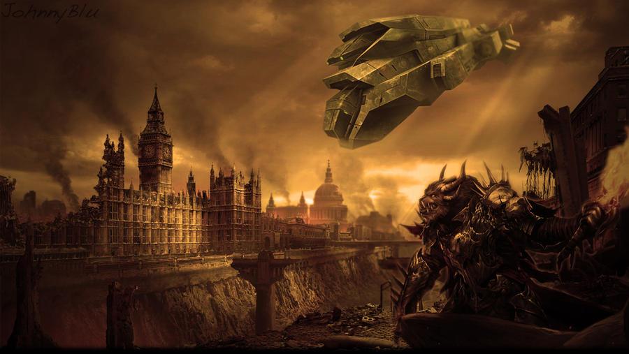 Apocalypse Fantasy Art by JohnnyBlu on DeviantArt