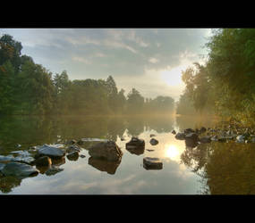 Misty River by mARTinimal