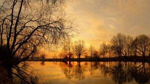 Sunset Mirror ll by mARTinimal