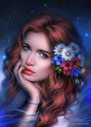 Girl portrait by Ennya7