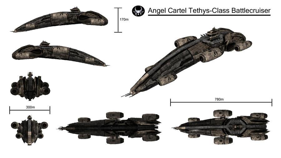 Angel Battlesruiser by LinasIv