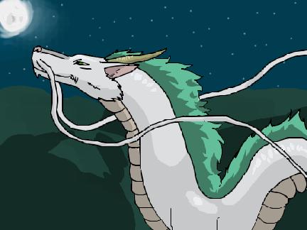 Haku Dragon Spirited Away By Lostdragon000 On Deviantart