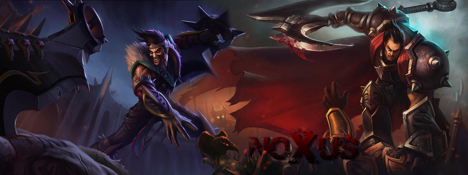 Draven Darius The Blood Brothers by NUkeScLeague Of Legends Wallpaper Darius Draven