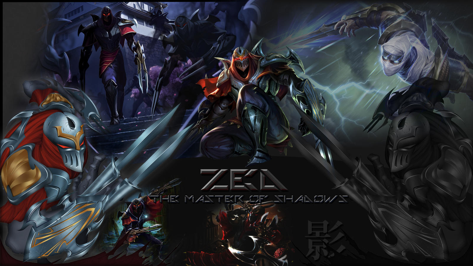 Zed Ultimate Wallpaper (old) by NUkeSc on DeviantArt