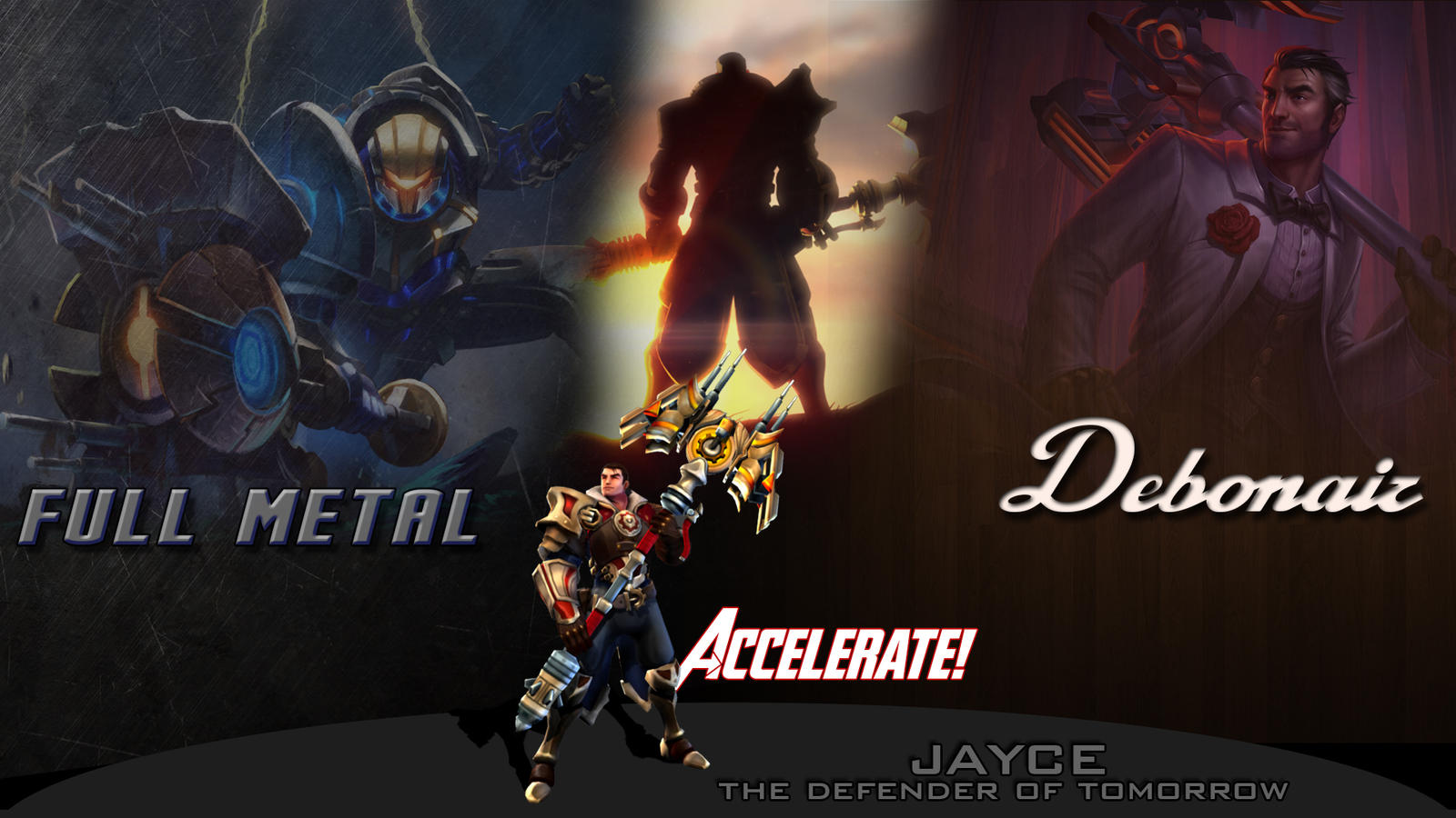 Jayce Ultimate Wallpaper By NUkeSc