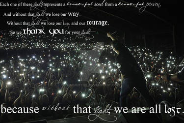 Without that Light, We are all Lost