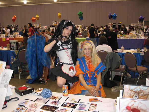 Naruto and Sasuke in FanimeCon by Wardog1