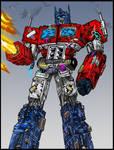 B.D Optimus Prime Coloured
