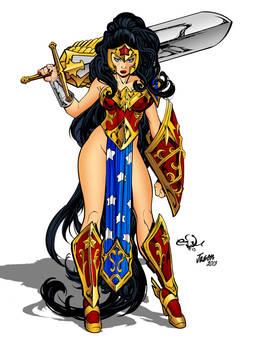 Ame Comi Girls Wonder Woman By Edufrancisco