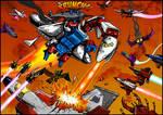 Sky Lynx Vs Everybody by Joe Teanby