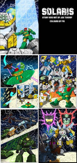 Solaris Coloured pages
