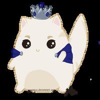 {Closed} - Adoptable - Princess Cat by yoomyu