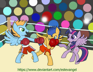 Boxing Request 2 by Estevangel