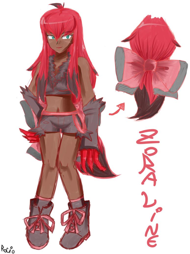 Zoraline human form by RocketHaruka
