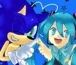 SEGA blue stars
