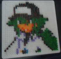 N hama bead - pixel art- by RocketHaruka