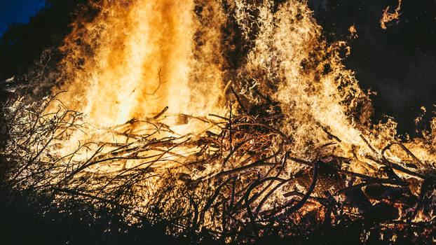 A Fire Burns