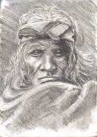 Old Indian Sage by Serkhet-hetyt