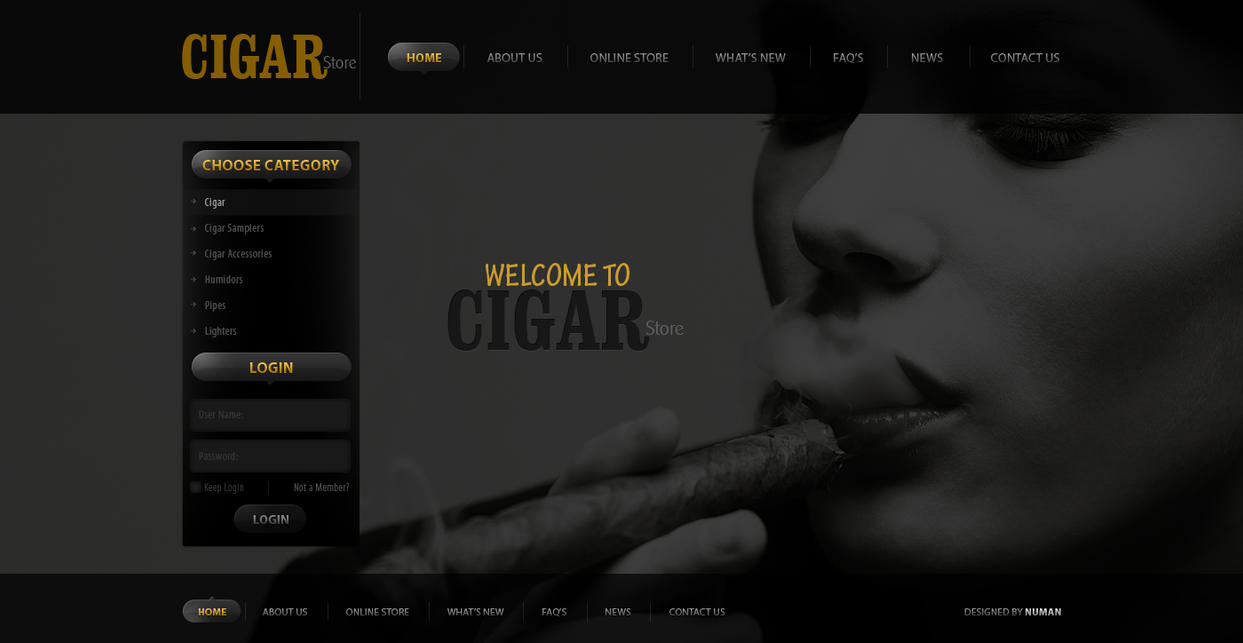 Cigar Store by silent-Princee