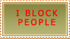 Stamp: I block by PyroKey