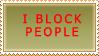 Stamp: I block by PyroKey