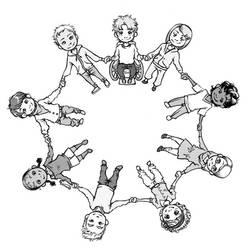 Cercle de l'Friendship by KinpatsuYasha