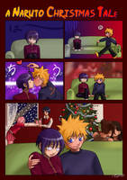 Cute Naruto Christmas Tale by KinpatsuYasha