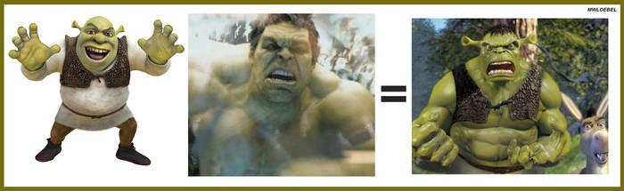 Shrek + Hulk..