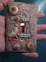 New nasty Switch Plate by MorgansMutations