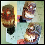The new zombie night light is done!
